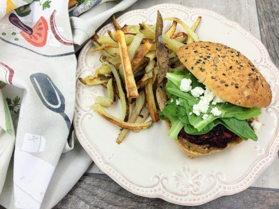 black garlic burger